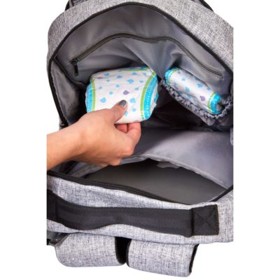 Katie Diaper Bag interior pockets